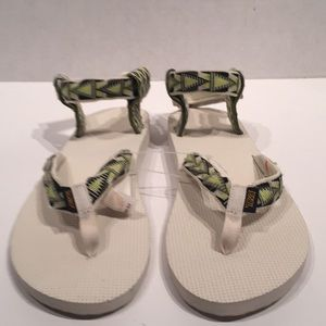 Teva Atomic Lime Original Sport Sandals